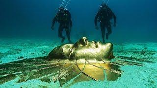 Уникальная находка на дне океана... Самые необычные находки археологов