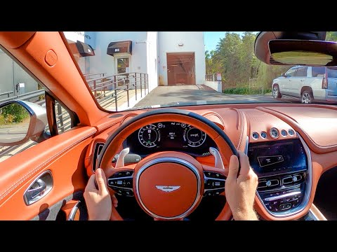 2021 Aston Martin DBX – POV Test Drive by Tedward (Binaural Audio)