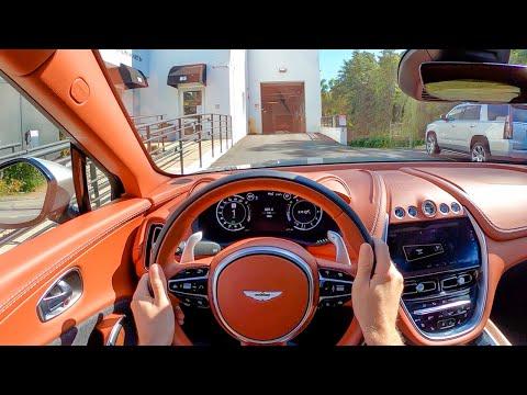 2021 Aston Martin DBX – POV Test Drive by Tedward (Binaural Audio)