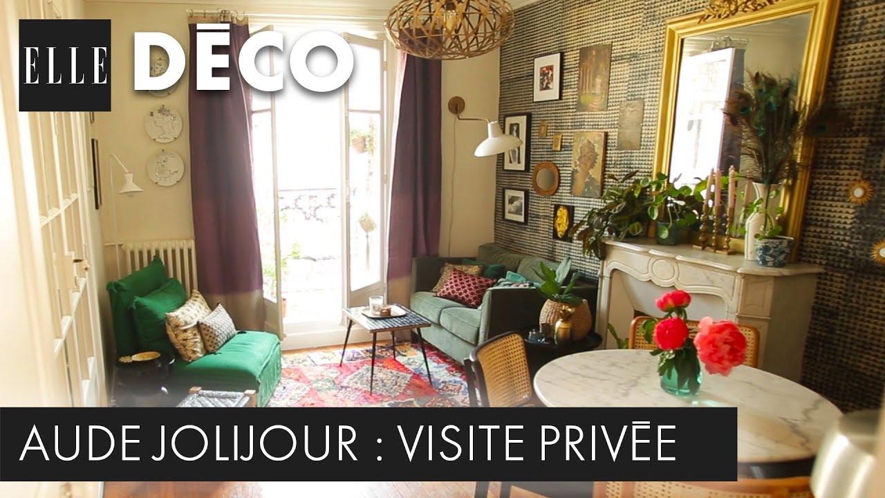 Decoration Interieur Appartement Vintage #elledécoinside : découvrez le petit appartement bucolique d'aude jolijour
