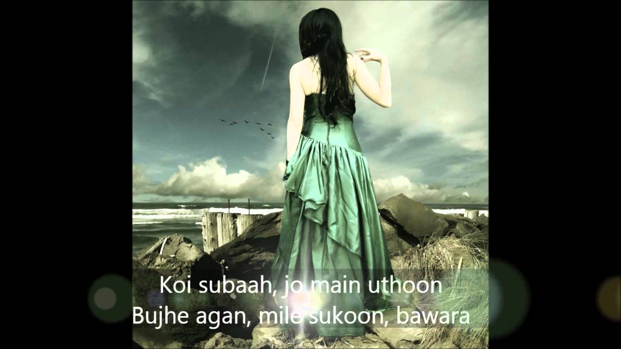 Man jage sari raat mera deewana (hindi/eng lyrics) | shahid maliya.