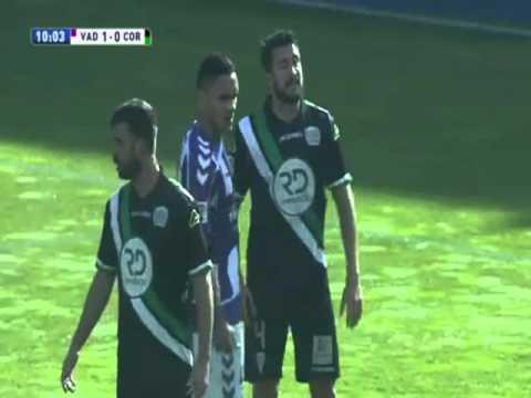 Segunda Division - Real Valladolid vs Córdoba 24/01/2016 Partido Completo