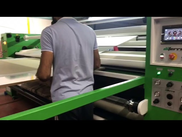 DP-33B500C - Large Format Piece to Roll Transfer Printing Machine