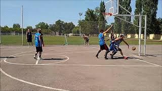 Баскетбол 3х3. Энергия - Титан - 8:9