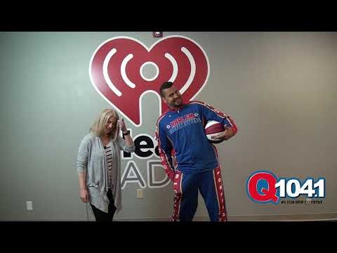 Casey Carter - El Gato from the Harlem Globetrotters paid us a visit!