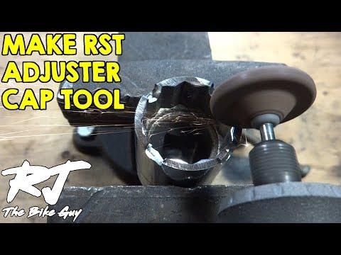 How To Make Adjuster Cap Tool For RST Forks - Socket Version