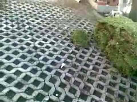 Jardines dise o siembra en adoqu n ecol gico youtube for Colocar adoquines en jardin