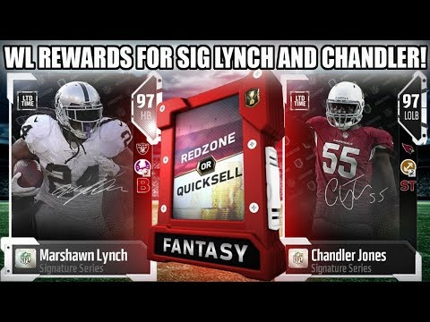 WEEKEND LEAGUE REWARDS FOR SIG LYNCH AND CHANDLER! | MADDEN 18 ULTIMATE TEAM
