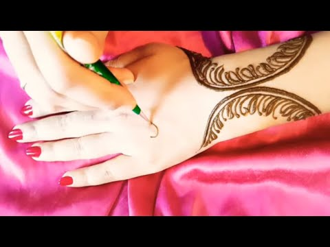 Beautiful and simple mehndi design tutorial #790 thumbnail