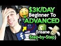 (FREE Course) $3k/day Beginner To Advanced Step By Step | Shopify Dropshipping 2019
