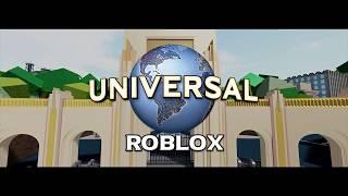 Universal Studios ROBLOX Promo