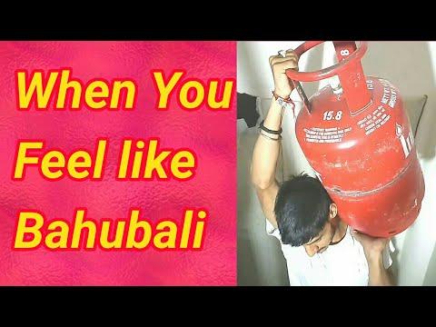That Moment when every son feel like Bahubali 💪💪