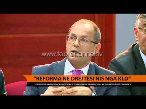 Ekspertët: Reforma në drejtësi nis nga KLD - Top Channel Albania - News - Lajme