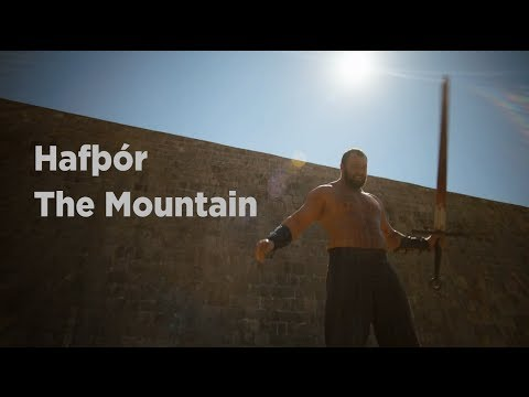The Mountain - Game of Thrones - Hafþór Júlíus Björnsson - English caption