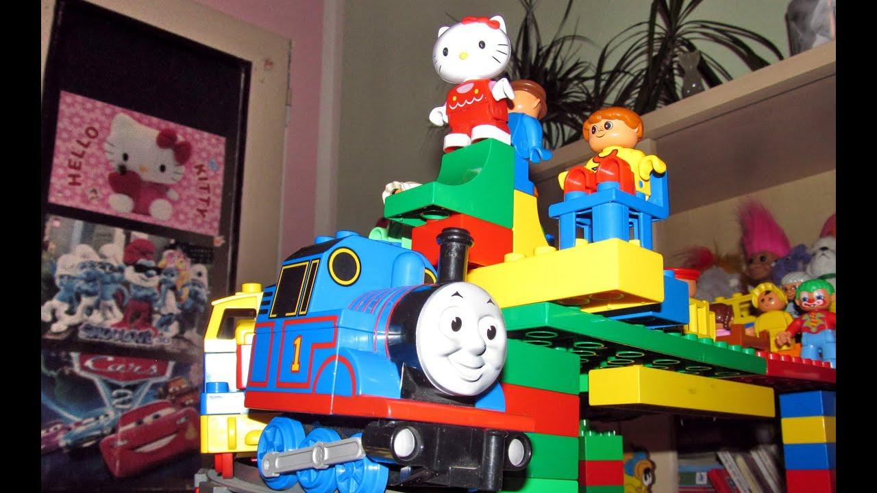 Lego hello kitty and thomas the train youtube - Lego hello kitty maison ...
