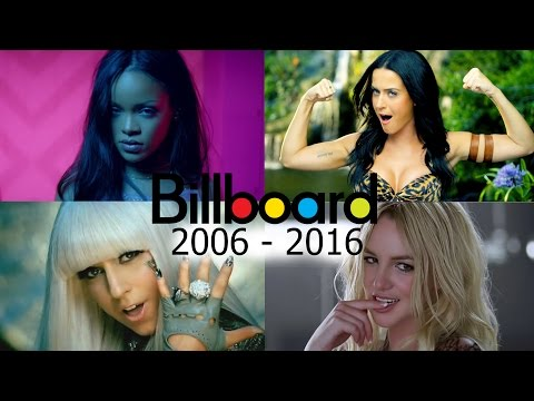 Billboard Hot 100 - No. 1 Female Songs (2006-2016)