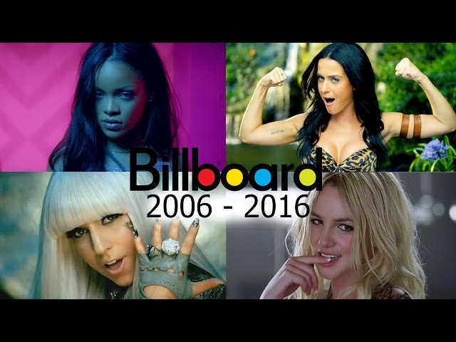 Billboard Hot 100 - No. 1 Female Songs (2006-2016)