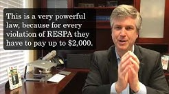 """Can I really sue my mortgage company for violating RESPA?"""