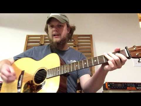 Zeb Snyder - Guitar Lesson - Flatpicking Licks Using Patterns of the G Major and G Blues Scales