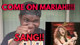 Mariah Carey | If Its Over Live | 1992 Grammy Awards| Reaction