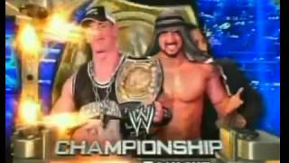 WWE Raw (20-6-05) Match Card John Cena Vs Muhammad Hassan For The WWE Championship