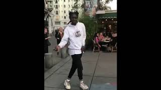Dude Has a Clean Moonwalk