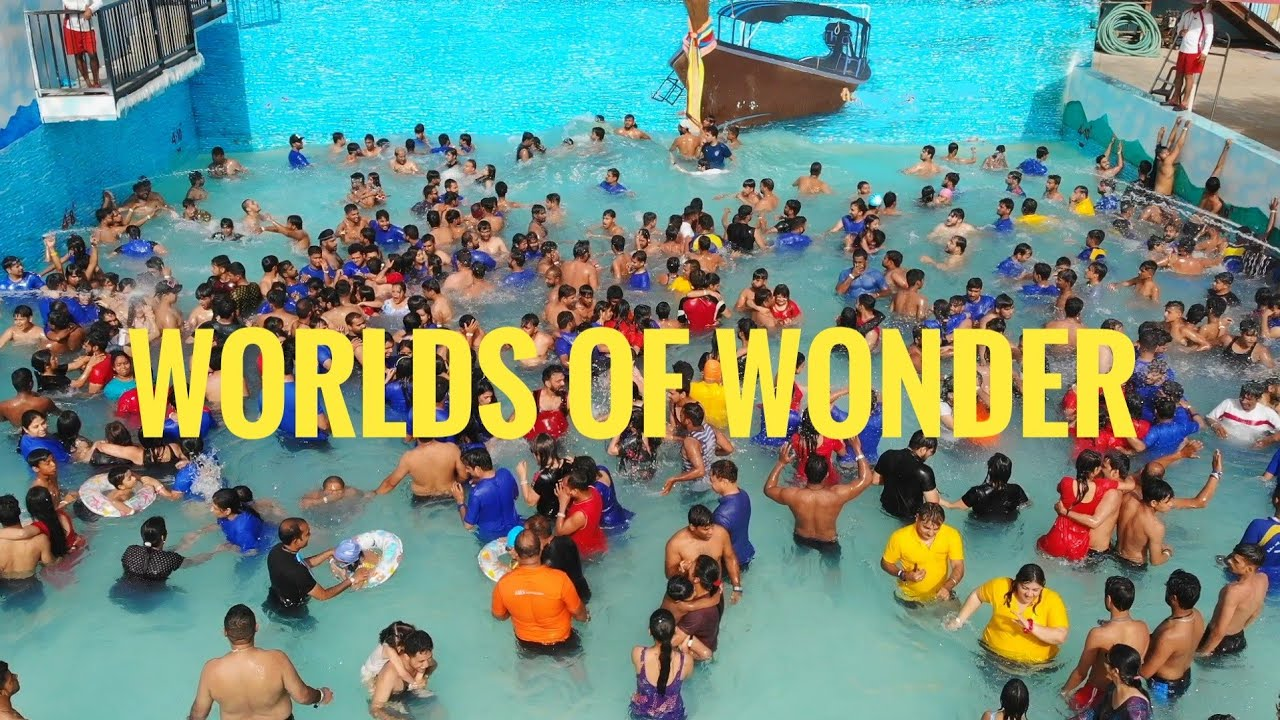 Wow Water Park Noida Best Water Park Of Delhi Worlds Of Wonder