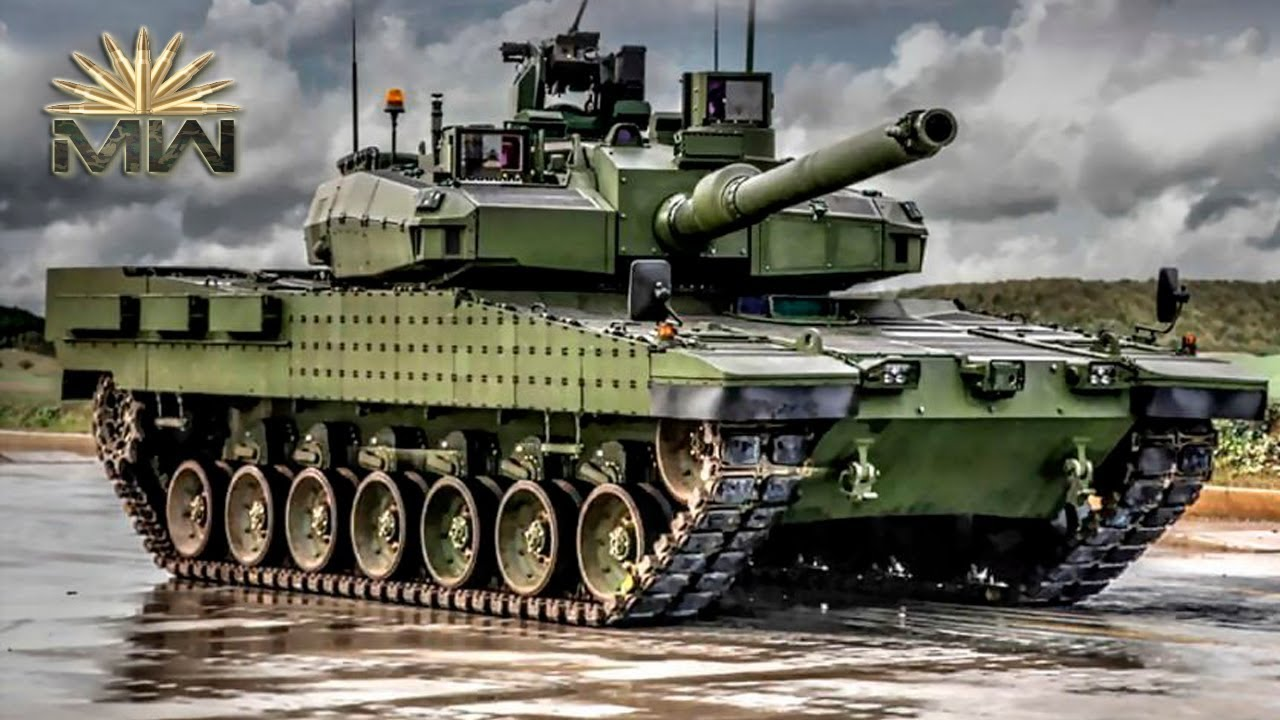e1546f863a81 Altay (TANK) ⚔ Turkish Modern MBT  Review  - YouTube
