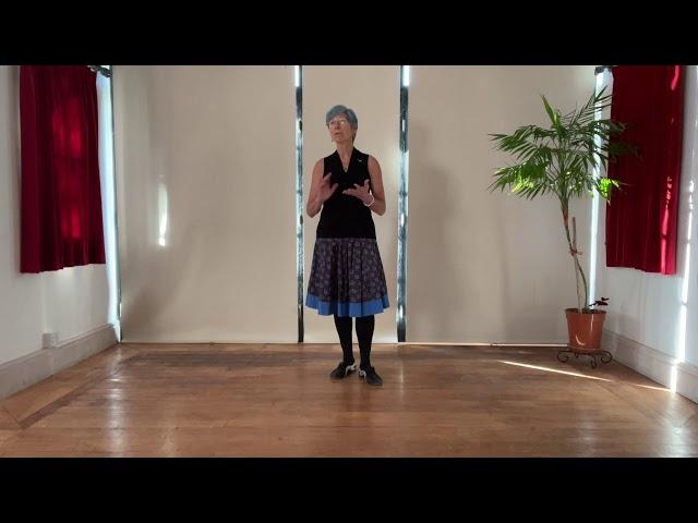 Swedish Folk Minuet #4 - practising Figures 1 & 2