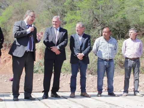 Municipalidad de Santa Clara Inauguracion del Canal de Riego