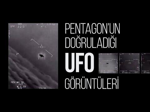 Pentagon'un doğruladığı UFO
