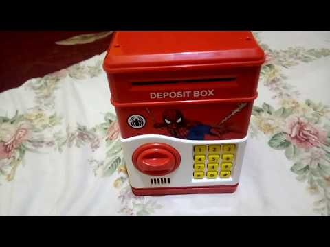 How to change the code of deposit box