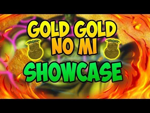 GOLD GOLD NO MI SHOWCASE & DEVIL FRUIT SHOWCASE | STEVE'S ONE PIECE | ROBLOX