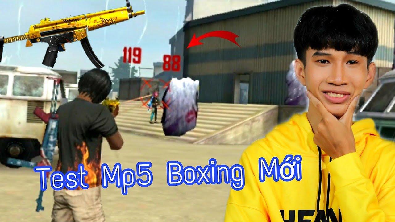 [FREE FIRE] - Test Cây Mp5 Boxing Mới - ANH FORD Số Đỏ Nhất Ngày Hôm Nay
