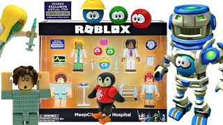 Roblox Toy Meep City Hospital & Code Item + ALL MEEP TOYS, Doctor Playset