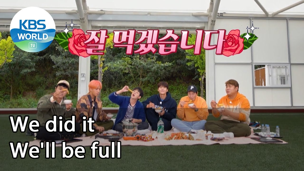 Download We did it. We'll be full (2 Days & 1 Night Season 4 Ep.95-1)   KBS WORLD TV 211017