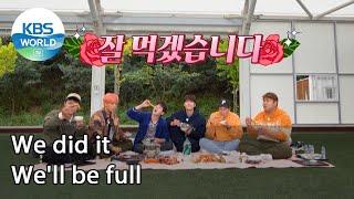We did it. We'll be full (2 Days & 1 Night Season 4 Ep.95-1)   KBS WORLD TV 211017