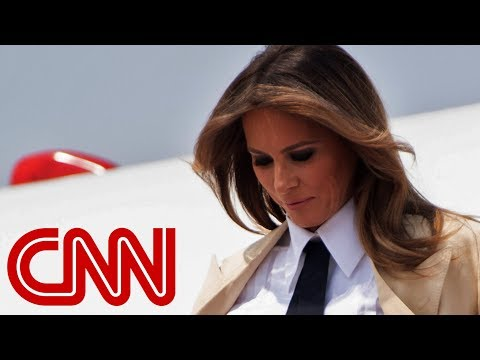 Reporter asks Melania Trump: Do you love your husband?