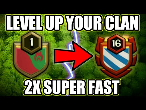 How To Level Up Your Clan Super Fast In Clash Of Clans In Hindi