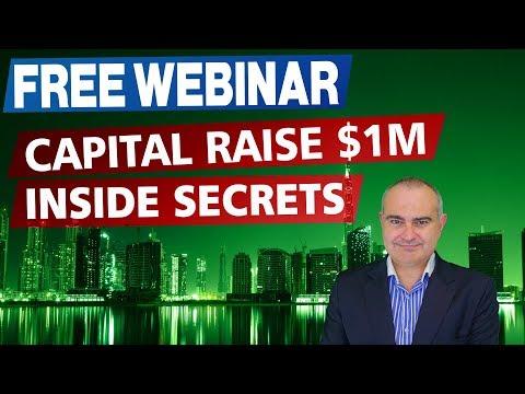 How To Raise $1 Million In Capital FREE WEBINAR