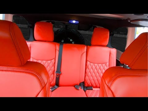 How Much Does It Cost For Custom Leather Seats In My Jeep Wrangler Rubicon 1yr Review Youtube