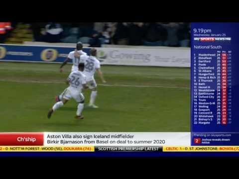Leeds 2-0 Nott'm Forest
