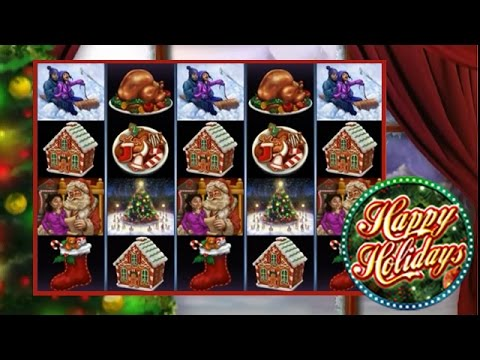 Happy Holidays Online Slot From Microgaming Youtube