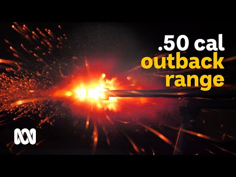 50 Cal Shooting Range: Outback Farm Diversifies Into Shooting Tourism | Landline | ABC Australia