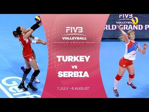Turkey v Serbia highlights - FIVB World Grand Prix