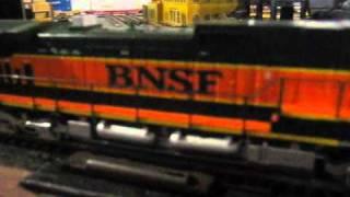 Custom Wiring: Ditch Lights Installed On My Athearn RTR BNSF C44-9W