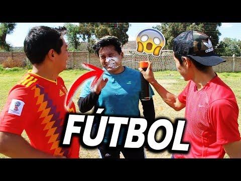 CIRCUITO de FÚTBOL con Eddy OZ & Cris Cas [Retos de Futbol] FUTBOL CHALLENGE