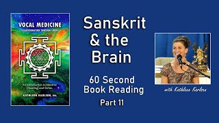 Sanskrit & the Brain: Vocal Medicine Book Excerpt #11