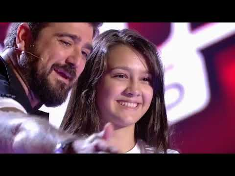 Flori, românca de 14 ani din Spania care a uimit juriul şi publicul de la Vocea Spaniei Junior