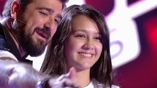 Flori, romanca de 14 ani din Spania care a uimit juriul si publicul de la Vocea Spaniei Ju ...